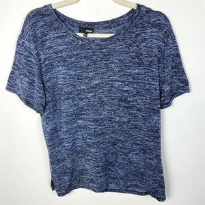 Aritzia Wilfred Free Divina T-Shirt Blue Slouchy L